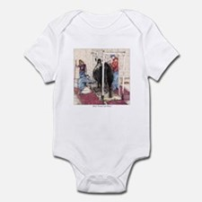 """""""Bred Owned and Shown"""" Infant Bodysuit"""