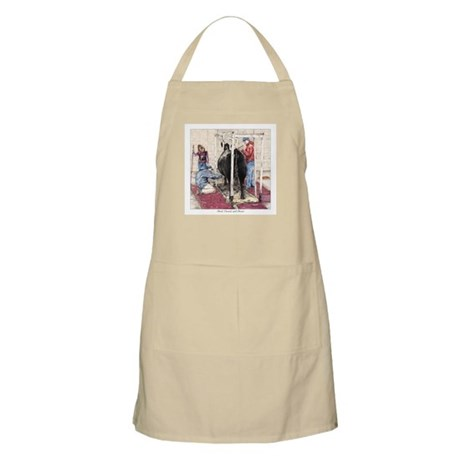 """Bred Owned and Shown"" BBQ Apron"