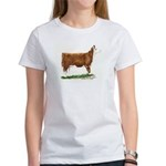 Hereford Heifer Women's T-Shirt