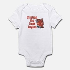 Cristian the Tank Engine Infant Bodysuit
