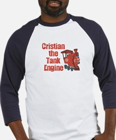 Cristian the Tank Engine Baseball Jersey