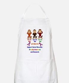 See...Speak...Hear BBQ Apron
