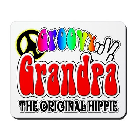 Groovy Grandpa Mousepad