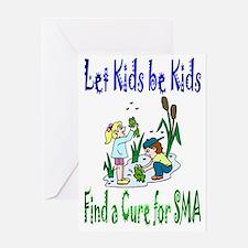 Let Kids be Kids Greeting Card