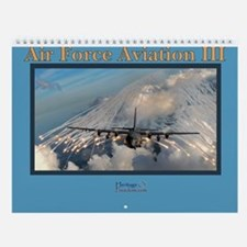 air force aviation iii wall calendar art force office decoration