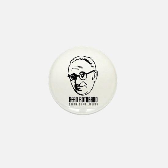 Read Rothbard Mini Button