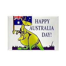 Australia Day Rectangle Magnet