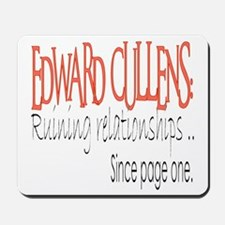 Edward - Ruining Relationship Mousepad