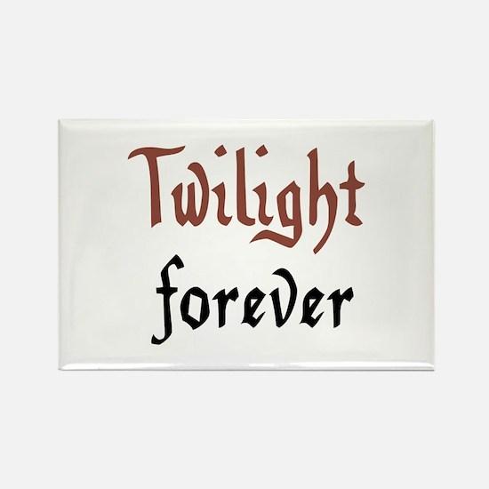 Twilight forever Rectangle Magnet