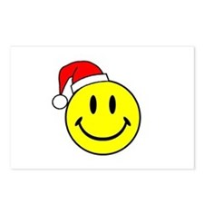 Christmas Smiley Postcards (Package of 8)