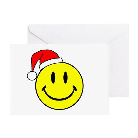 Christmas Smiley Greeting Card