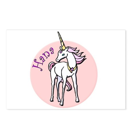 Hana Unicorn Postcards (Package of 8)