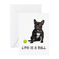 French Bulldog Life Greeting Card