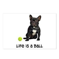 French Bulldog Life Postcards (Package of 8)