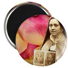 Saint Therese Rose Magnet