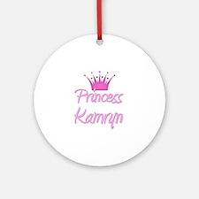 Princess Kamryn Ornament (Round)