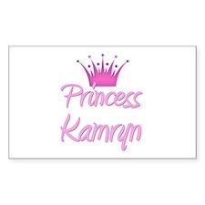 Princess Kamryn Rectangle Decal