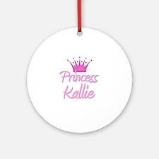 Princess Kallie Ornament (Round)