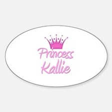 Princess Kallie Oval Decal