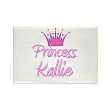 Princess Kallie Rectangle Magnet