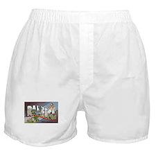 Raleigh North Carolina Greetings Boxer Shorts