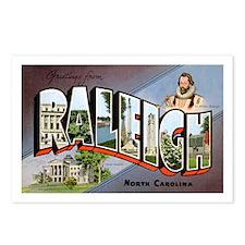 Raleigh North Carolina Greetings Postcards (Packag