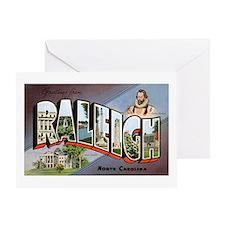 Raleigh North Carolina Greetings Greeting Card