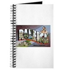 Raleigh North Carolina Greetings Journal