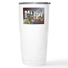 Raleigh North Carolina Greetings Travel Mug