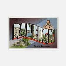 Raleigh North Carolina Greetings Rectangle Magnet