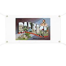 Raleigh North Carolina Greetings Banner