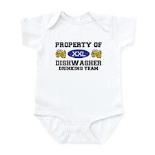 Property of Dishwasher Drinking Team Infant Bodysu