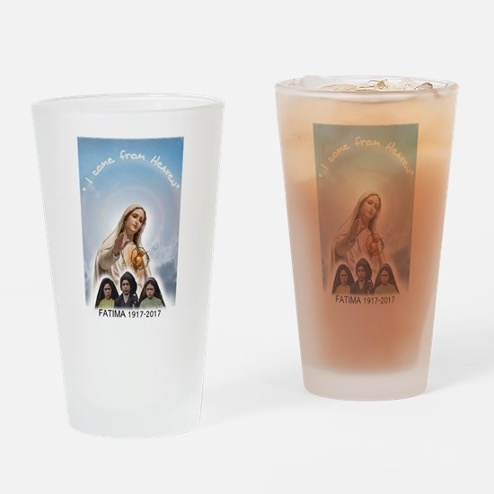 I come from Heaven Drinking Glass