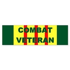 Bumper Sticker/Combat Veteran