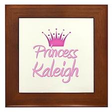 Princess Kaleigh Framed Tile