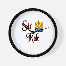 Sir Kale Wall Clock