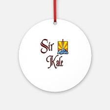 Sir Kale Ornament (Round)