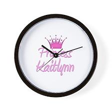 Princess Kaitlynn Wall Clock