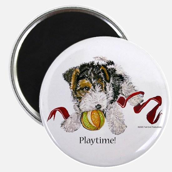 Fox Terrier Puppy Magnet