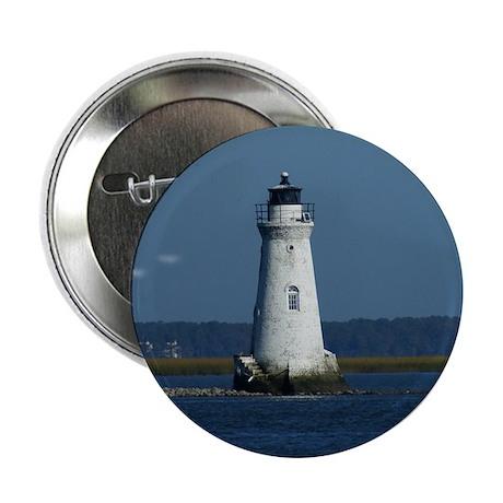 "Cockspur Island Lighthouse 2.25"" Button"