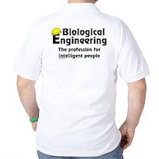 Smart Biological Engineer (Back) T-Shirt