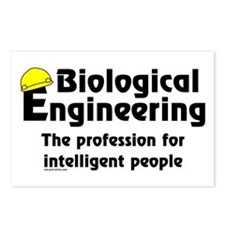 Smart Biological Engineer Postcards (Package of 8)
