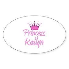 Princess Kailyn Oval Decal