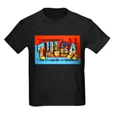 Tulsa Oklahoma Greetings (Front) T