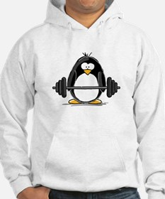 Weight lifting penguin Hoodie