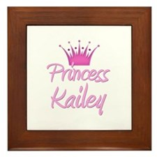 Princess Kailey Framed Tile