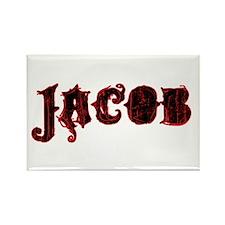 Twilight Jacob Rectangle Magnet