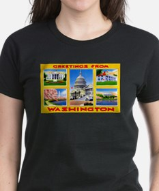 Washington DC Greetings (Front) Tee