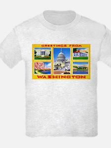 Washington DC Greetings T-Shirt