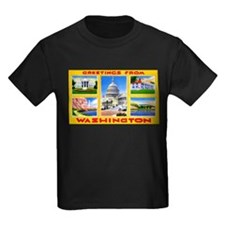 Washington DC Greetings (Front) T